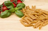 image of roughage  - a close up image of dried Italian pasta - JPG