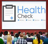 stock photo of check  - Health Check Insurance Check Up Check List Medical Concept - JPG
