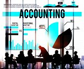 pic of budge  - Accounting Business Banking Budge Finance Market Concept - JPG
