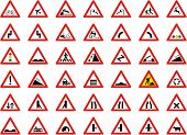 pic of railroad-sign  - big collection of traffic signs  - JPG