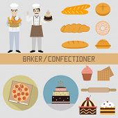 picture of confectioners  - Bakers and confectioners - JPG