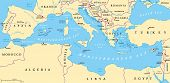 picture of south east asia  - Region of lands around the Mediterranean Sea - JPG