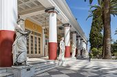 picture of sissy  - Achillion palace in Corfu island  - JPG