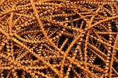 foto of scrap-iron  - close up picture of metal scrap background - JPG