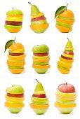 Постер, плакат: смешанные фрукты