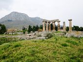 Постер, плакат: Ruins of Ancient Corinth