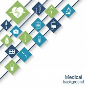 Постер, плакат: Medical And Healthcare Concep