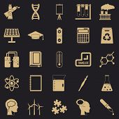 Academic Degree Icons Set. Simple Set Of 25 Academic Degree Icons For Web For Any Design poster