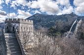 foto of qin dynasty  - Great Wall at Mutianyu near Beijing - JPG