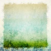 picture of impressionist  - Vintage grunge background - JPG