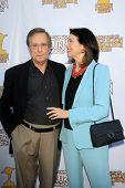 LOS ANGELES - JUN 26:  William Friedkin. Sherry Lansing arrives at the 39th Annual Saturn Awards at