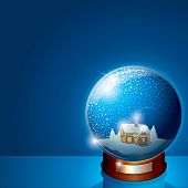 Glass Snow Globe