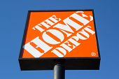 JACKSONVILLE, FL-MARCH 8, 2014: A Home Depot sign in Jacksonville. The Home Depot is the largest hom