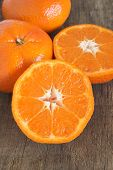 picture of satsuma  - Nadorcott sweet and juicy type of satsuma - JPG