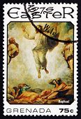 Postage Stamp Grenada 1976 Ascension, Painting By Raphael