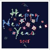 Happy New Year - greeting card (2)
