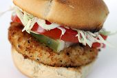 Vegan Chicken Slider