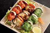 stock photo of kababs  - Kebab  - JPG