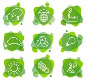 Environment protection icons