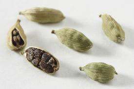 stock photo of cardamom  - Green Cardamom  - JPG