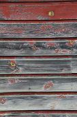 stock photo of red siding  - Old - JPG