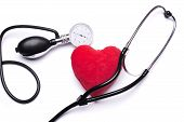 stock photo of pacemaker  - Stethoscope - JPG