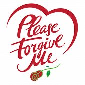 picture of forgiveness  - Please forgive me  - JPG