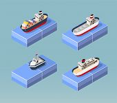 picture of passenger ship  - Cargo ships in perspective - JPG