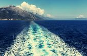 picture of life-boat  - Boat trip in Greece - JPG