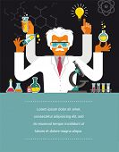 picture of scientist  - Mad Scientist  - JPG
