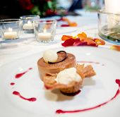 picture of dessert plate  - Feed and food - JPG