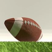 American football ball NFL poster