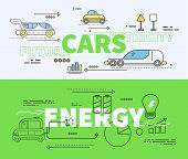 Car of Future Energy Electricity poster