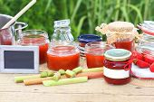 Постер, плакат: Jam Cooking In The Summer Kitchen