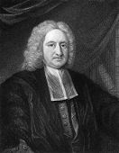 Edmond Halley (1656-1742). Engraved by W.T.Fry and published in The Gallery Of Portraits With Memoir