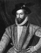 pic of courtier  - Walter Raleigh  - JPG