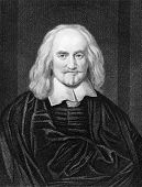 Thomas Hobbes (1588-1679). Engraved by J.Pofselwhite and published in The Gallery Of Portraits With