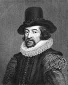 Francis Bacon (1561-1626). Engraved by J.Pofselwhite  and published in Lodge's British Portraits enc