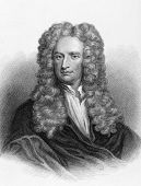 stock photo of eminent  - Isaac Newton  - JPG