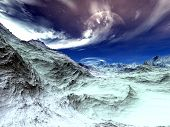 stock photo of fantasy world  - 3D rendered illustration - JPG