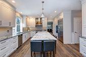 Luxury Custom Built Home Interior poster