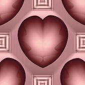 picture of grommets  - Pink Mauve Valentine - JPG