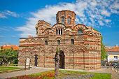 The Christ Pantocrator Curch is dated back 13th - 14th century in Nessebar, Bulgaria.