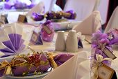 Wedding Or Birthday Table Setting, Landscape