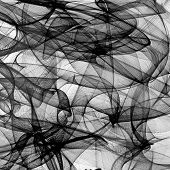 image of color spot black white  - Abstract generated black and white pattern background - JPG