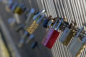 pic of leopold  - Locks of love on Paris bridge Leopold Sedar Senghor - JPG
