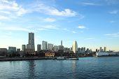 stock photo of kanto  - Japan landscape at Yokohama city at Japan  - JPG