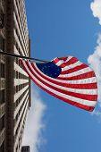 pic of betsy ross  - US variant Betsy Ross flag in Chicago - JPG