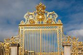 picture of versaille  - Main Gate in the Palace of Versailles France