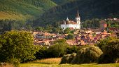 stock photo of sibiu  - Rasinari Church Sibiu  - JPG